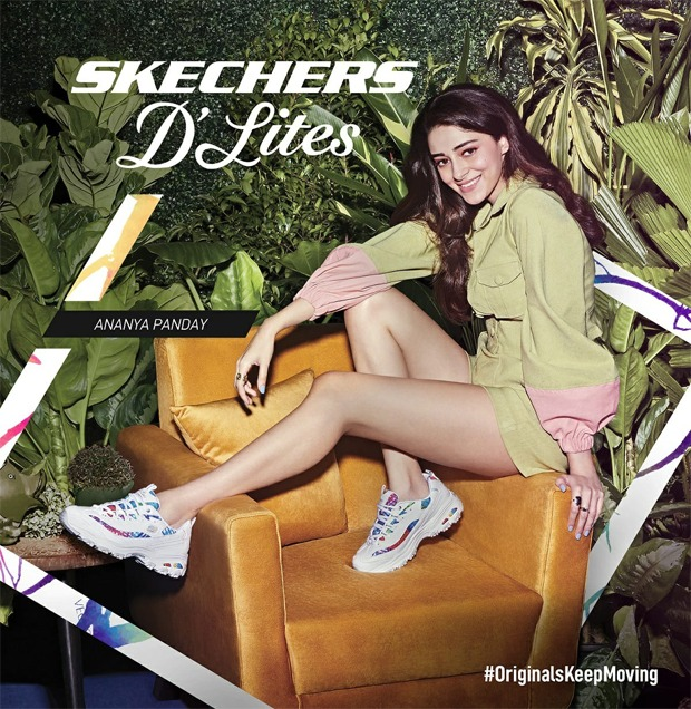 Ananya Panday is first female brand ambassador of Skechers India