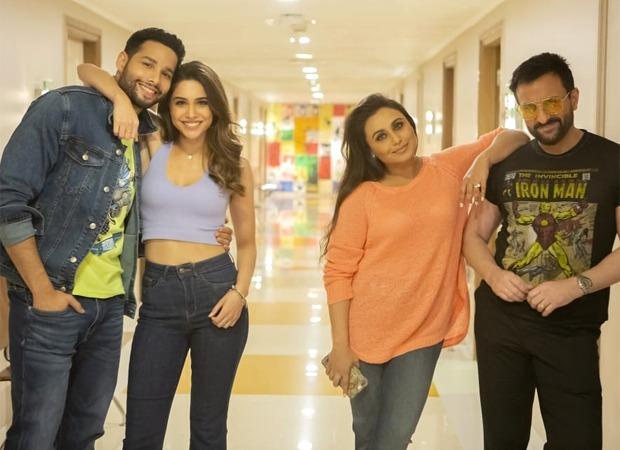 Bunty Aur Babli 2 cast members complete dubbing marking its completion