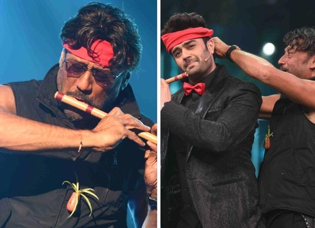 Jackie Shroff recreates the Hero flute scene with Maniesh Paul on Sa Re Ga Ma Pa Li'l Champs