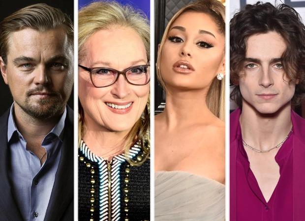 Leonardo DiCaprio, Meryl Streep, Ariana Grande, Timothee Chalaamet join star studded line up of Adam McKay's Don't Look Up