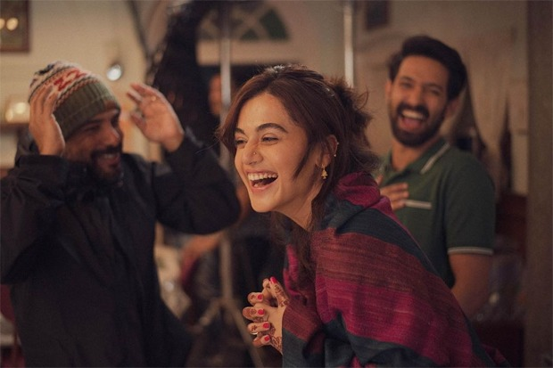Taapsee Pannu wraps up the shooting of Haseen Dillruba with Vikrant Massey, says film has probably experienced all seasons and emotions