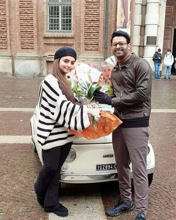 Check out: Prabhas cuts his birthday cake on the sets of Radhe Shyam in Italy