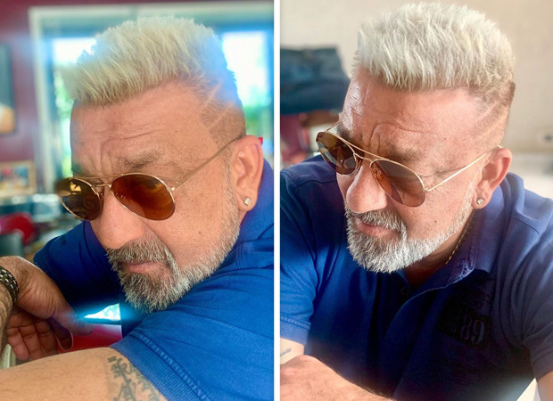 Sanjay Dutt gets a new look; turns platinum blonde ahead of KGF Chapter 2 shoot