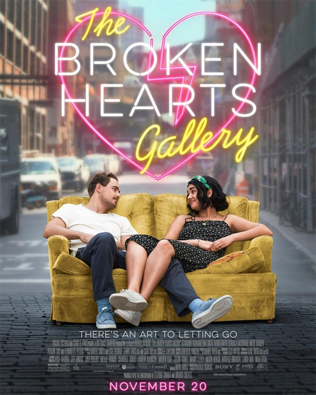 Selena Gomez' production The Broken Hearts Gallery starringGeraldine Viswanathan & Dacre Montgomery to release on November 20 in India