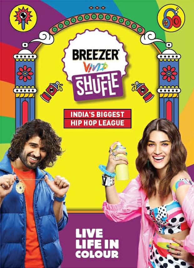 Vijay Deverakonda and Kriti Sanon turn up the heat with Breezer Vivid Shuffle season 4