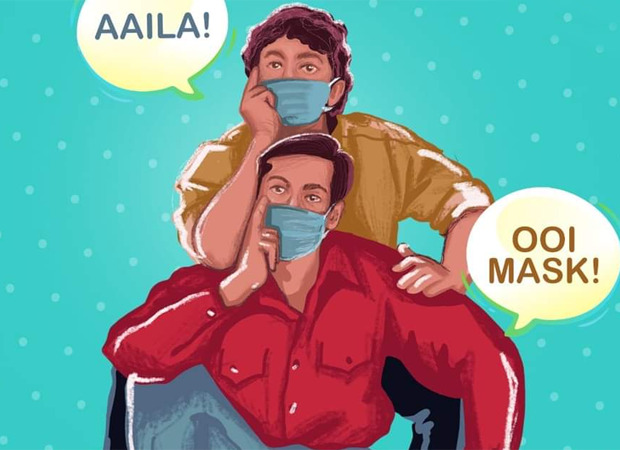 26 years of Andaz Apna Apna: Assam Police says 'Mask Apna Apna' and also gives a twist to a popular dialogue from the film