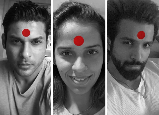 Sidharth Shukla, Saina Nehwal, Rithvik Dhanjani and other celebrities extend their support towards Laxmii's Laal Bindi initiative