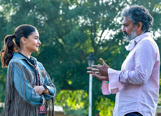 Alia Bhatt says shooting RRR with SS Rajmouli was a different experience she had to say lines Hindi and Telugu