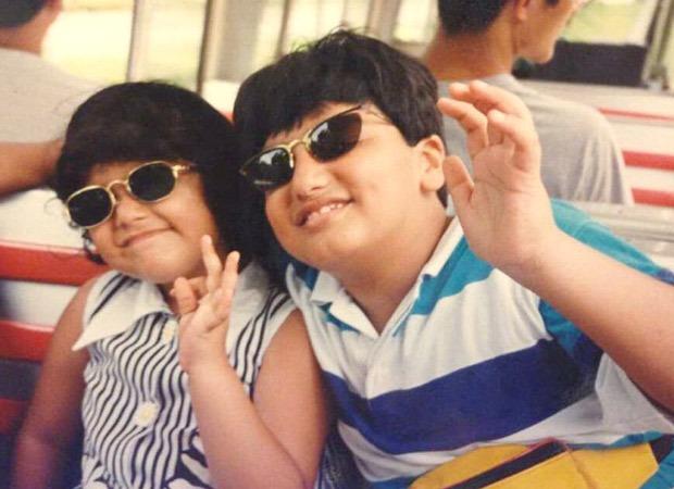 Arjun Kapoor shares rare childhood photo with Anshula Kapoor, pens a loving birthday note