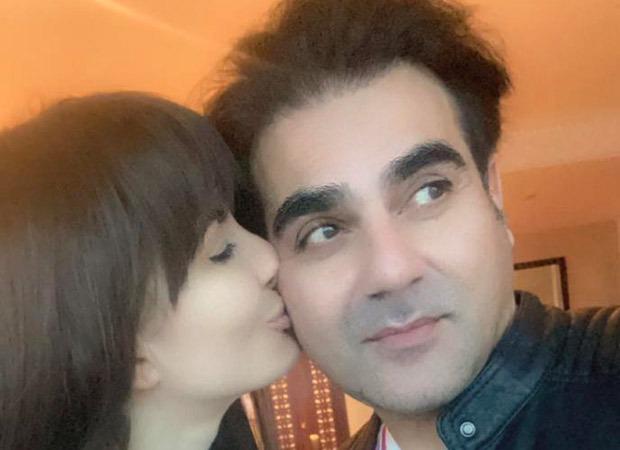 Beau Arbaaz Khan surprises Giorgia Andriani in Dubai