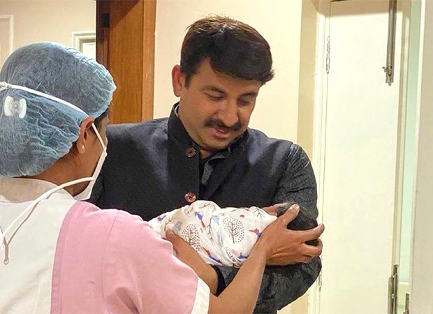 """""""I cannot contain my excitement"""", says Manoj Tiwari on being blessed with a baby girl again"""