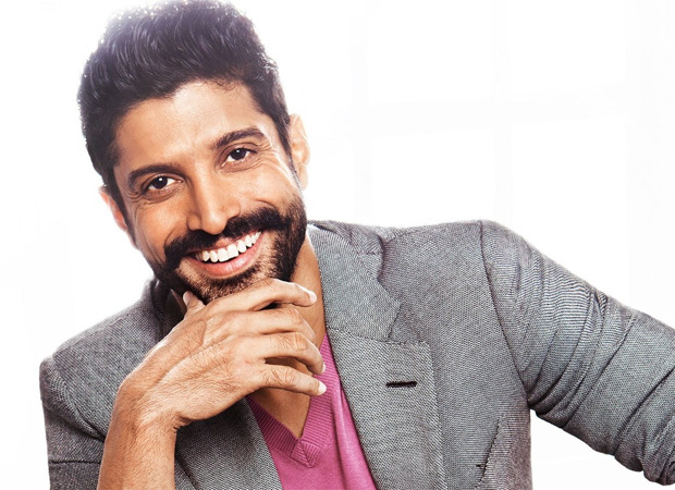 Farhan Akhtar helps in building a new home for a homeless man