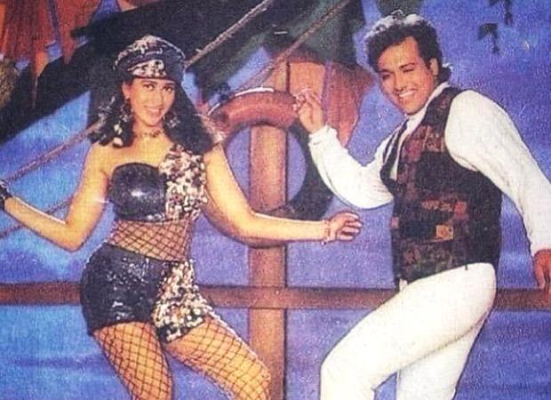 Karisma Kapoor shares throwback photo with Govinda from 'Husn Hai Suhana' song; Varun Dhawan says 'love u lolo', Ranveer Singh calls her 'queen'