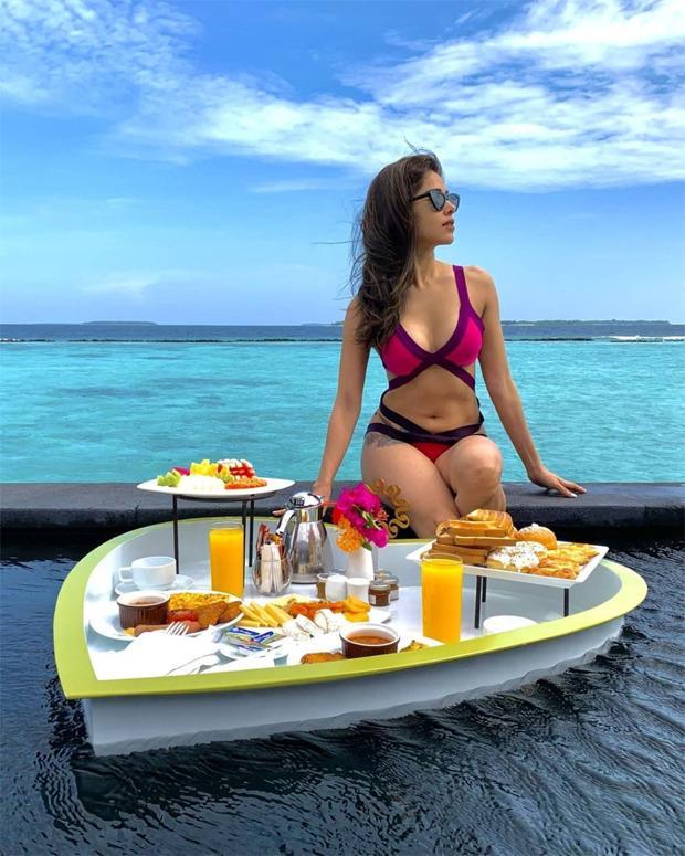 PICTURES: Nushrratt Bharuccha's sultry hot-pink bikini avatar raises the mercury level high!