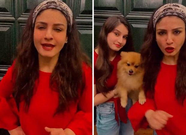 Raveena Tandon and daughter Rasha put their own hilarious spin to Shehnaaz Gill and Yashraj Mukhate's viral 'Saada Kutta Kutta' song