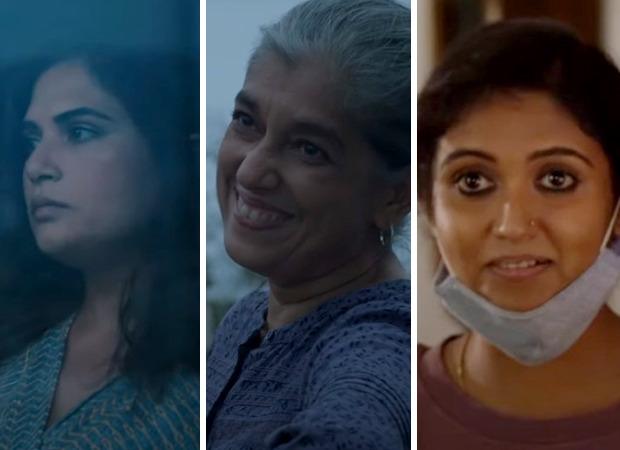 Richa Chadha, Ratna Pathak Shah, Rinku Rajguru & others star pandemic centric anthology film Unpaused releasing on December 18 on Amazon Prime Video
