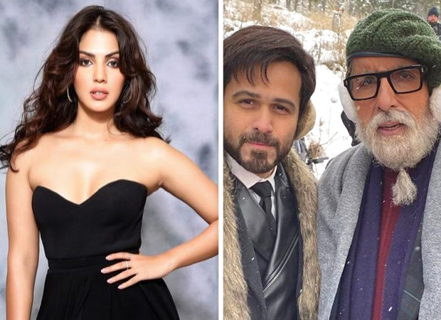 SCOOP: Rhea Chakraborty's infamy proves beneficial for Amitabh Bachchan – Emraan Hashmi starrer; Disney+ Hotstar acquires Chehre for a premium