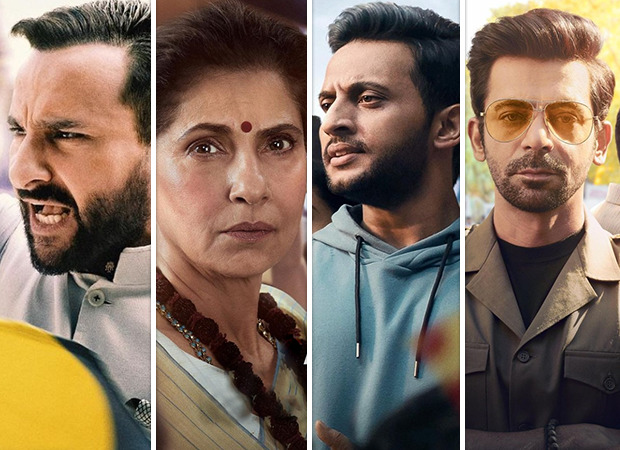 Saif Ali Khan, Dimple Kapadia, Mohd. Zeeshan Ayyub and Sunil Grover look powerful in posters of Amazon Prime Video's Tandav