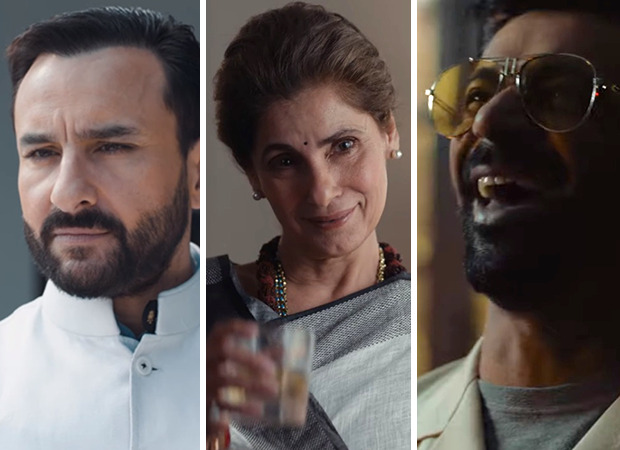 Saif Ali Khan, Dimple Kapadia, Sunil Grover, Mohd. Zeeshan Ayyub headline power-packed teaser of Amazon Prime Video political drama Tandav