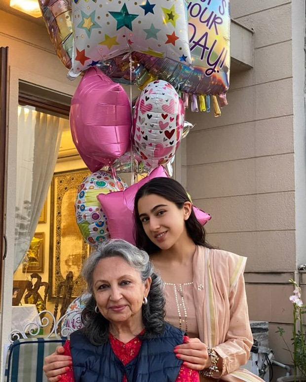 Sara Ali Khan wishes her 'Badi Amman' Sharmila Tagore on her 76th birthday