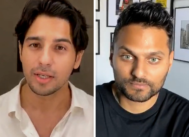 Sidharth Malhotra talks about mental health with motivational speaker Jay Shetty