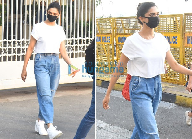 Deepika Padukone shows you how to opt for comfort style by pairing plain white t-shirt in three different ways
