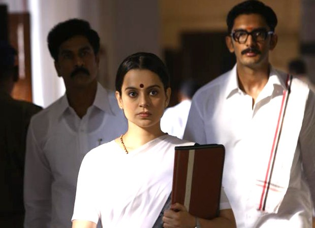 On J Jayalalithaa's death anniversary, makers of Kangana Ranaut starrer Thalaivi release new working stills from the film