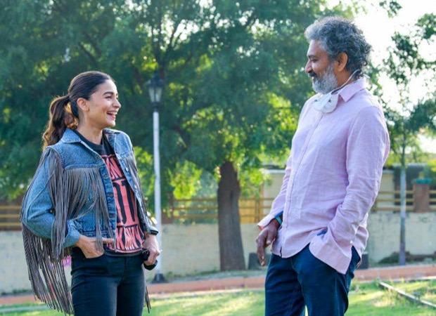 PICS: Alia Bhatt is happiest on the sets of SS Rajamouli's RRR