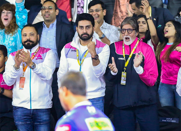 Amitabh Bachchan shares why he feared watching Jaipur Pink Panthers perform live