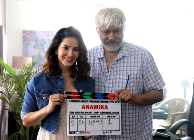 Vikram Bhatt collaborates with Sunny Leone for his next web series titled Anamika