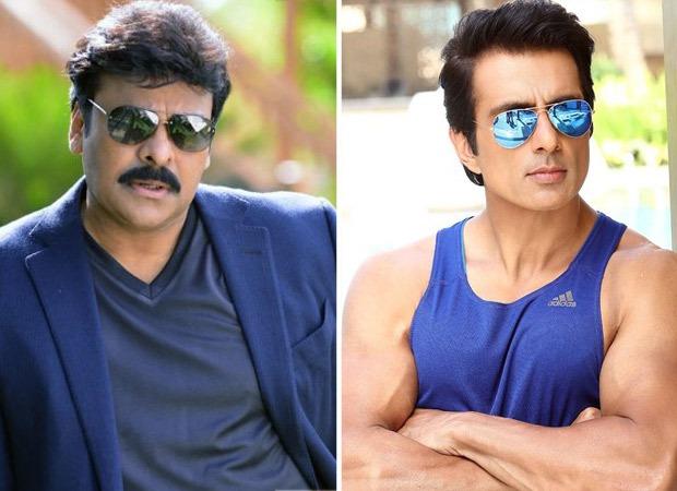 Chiranjeevi had reservations on hitting Sonu Sood in a scene in Telugu movie Acharya