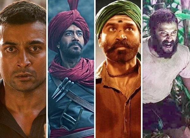 Soorarai Pottru, Asuran, Tanhaji, Jallikattu among the Indian films to screen at the Golden Globes Awards 2021