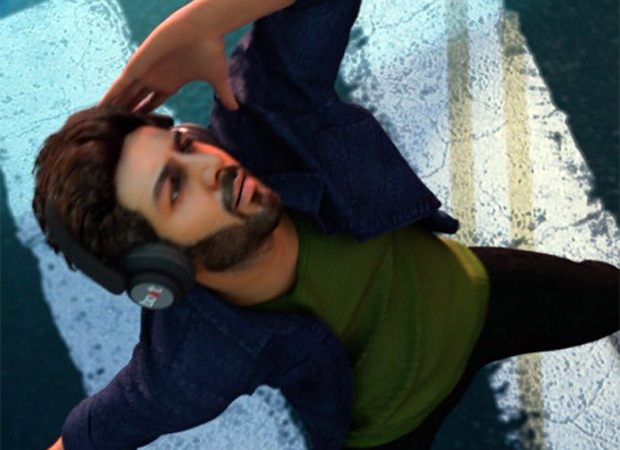 Kartik Aaryan releases the teaser of his music video 'Nachunga Aise' which sees him in his digital avatar