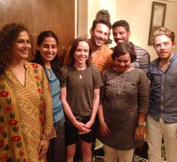 When Apurva Asrani met Elliot Page, formerly Ellen Page
