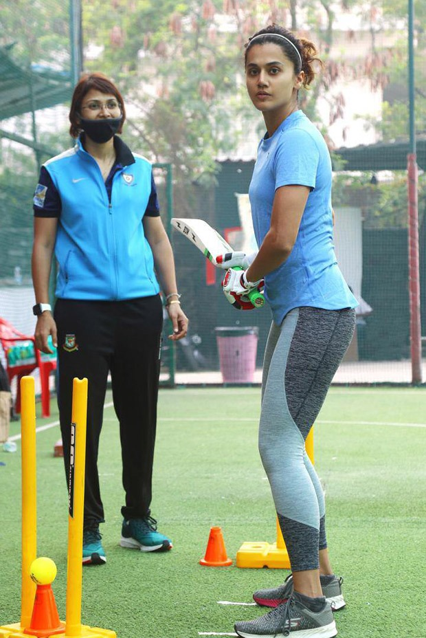 After wrapping Rashmi Rocket, Taapsee Pannu begins cricket training for Mithali Raj biopic Shabaash Mithu