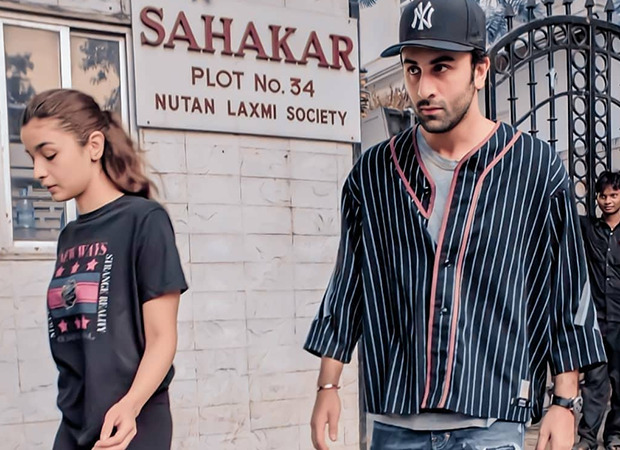 Ranbir Kapoor and Alia Bhatt sport casual attires as they step out together