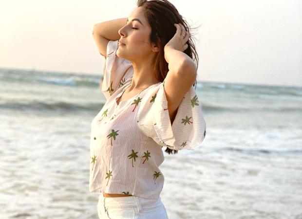 Shehnaaz Gill soaks in the sun by the sea shore in Goa