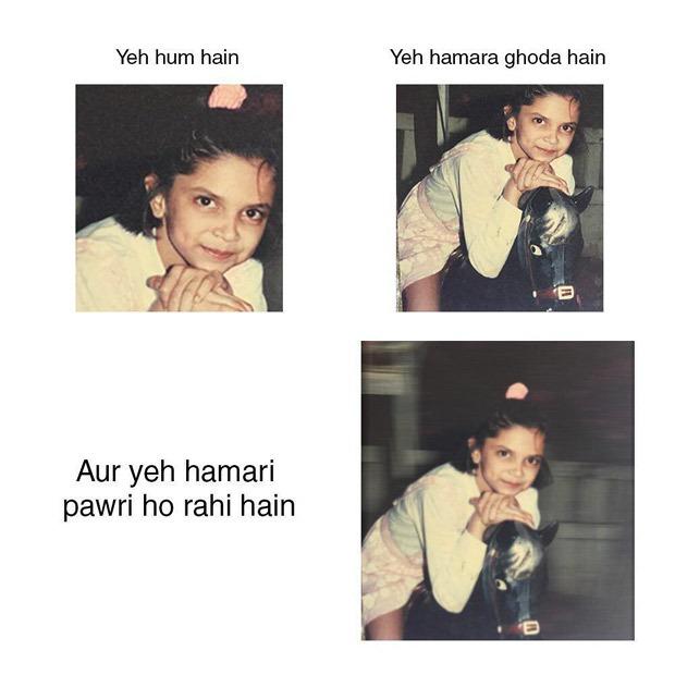 Deepika Padukone joins the viral 'Pawri Ho Rahi Hai' trend with her own version