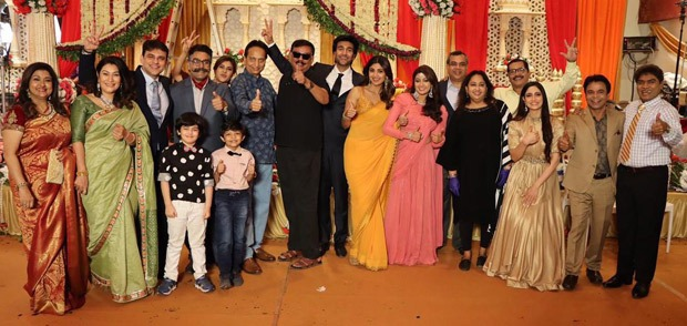 Double celebration for Hungama 2 as the team wraps shooting and celebrate director Priyadarshan's birthday