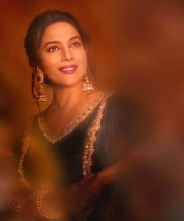 Madhuri Dixit exudes royalty in shades of black Manish Malhotra attire for Dance Deewane