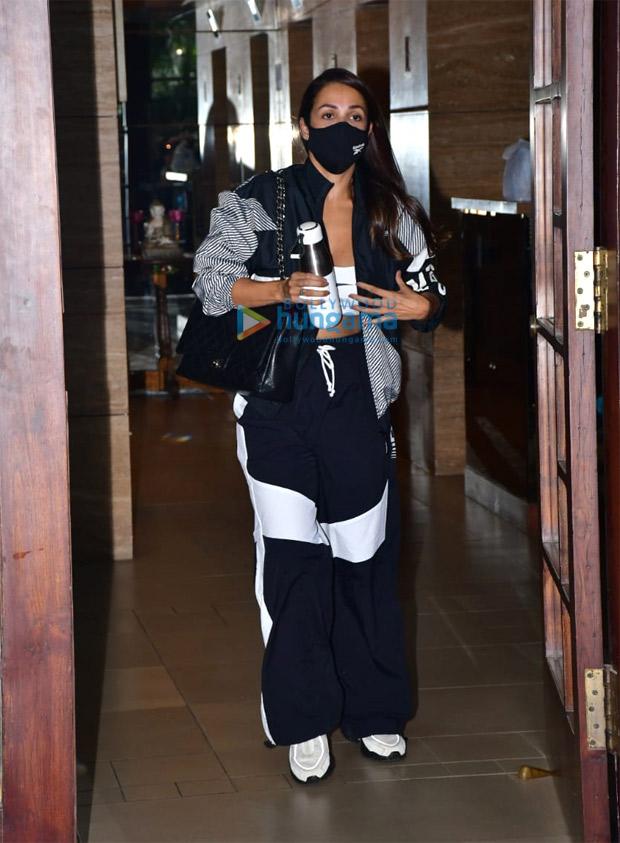 Malaika Arora keeps it comfy in athleisure style