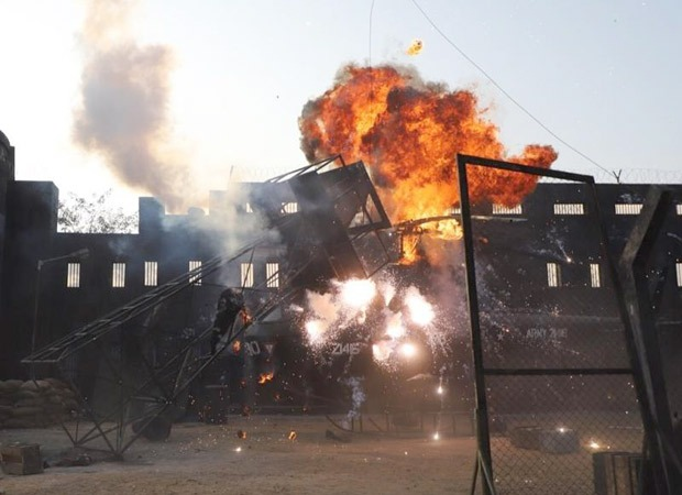 Makers of Aditya Roy Kapur starrer OM: The Battle Within build a kilometer long set for high octane action sequences