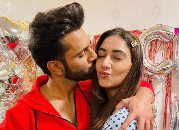 Bigg Boss 14 runner up Rahul Vaidya catches up with the Pawri trend; celebrates with fiance Disha Parmar
