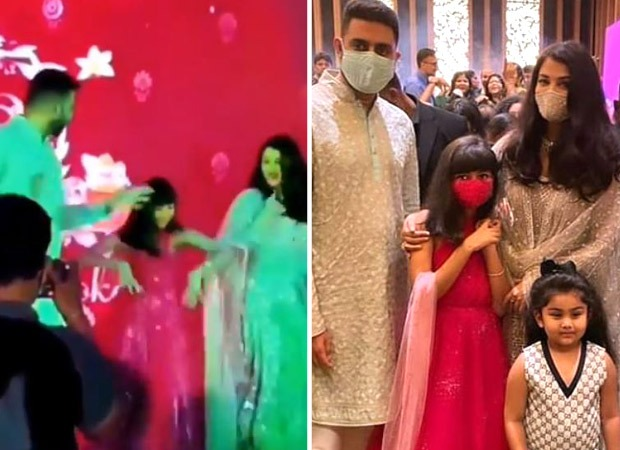 Watch: Aaradhya Bachchan nails the signature step of 'Desi Girl' as she dances with Aishwarya Rai and Abhishek Bachchan