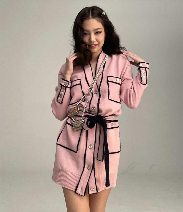 BLACKPINK's Jennie keeps it chic in Chanel pink dress for Harper's Bazaar Korea