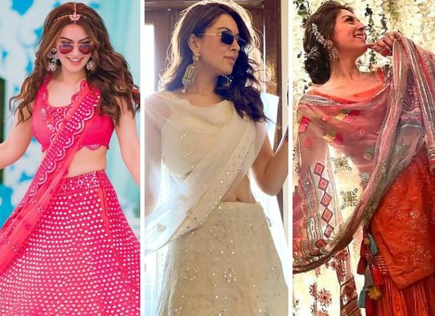 Hansika Motwani looks regal in stunning Indian attire during her brother's wedding