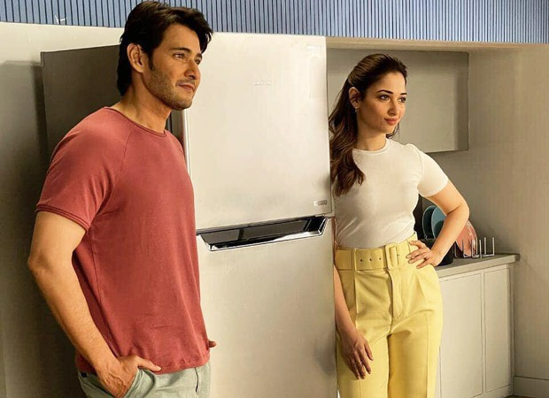 PICTURES Mahesh Babu and Tamannaah Bhatia shoot for a TVC directed by Sandeep Reddy Vanga