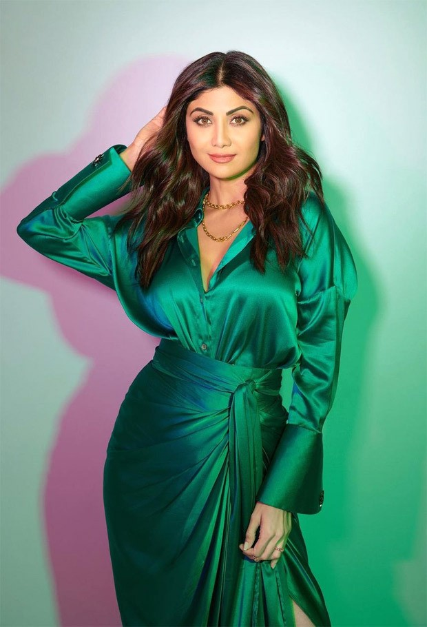 Shilpa Shetty's satin shirt and tie-up skirt worth Rs. 37,000 should be on your summer wish list