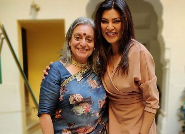 Sushmita Sen reunites with Sohaila Kapur for Aarya 2; latter shares picture from the sets