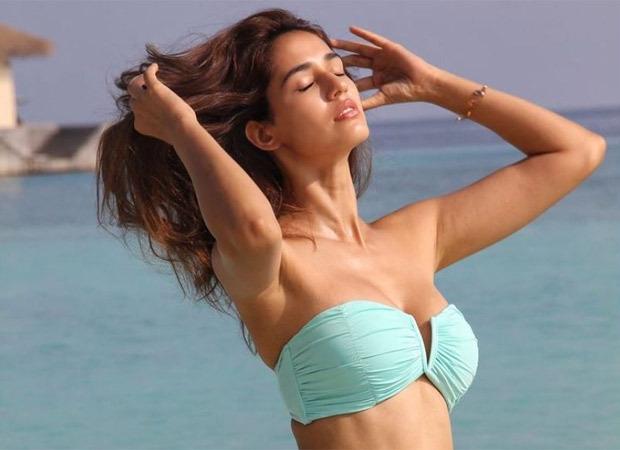Disha Patani shoots in a bikini at Mumbai beach for Ek Villain Returns?